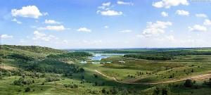 Клебан-Быкское водохранилище в центральной части области