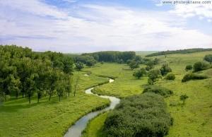 Долина реки Малый Кальчик в южной части области