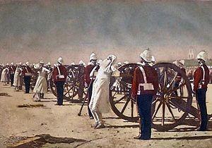 «Подавление индийского восстания англичанами», В.В. Верещагин, 1884