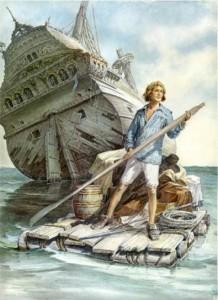 «Робинзон Крузо», Даниель Дефо, иллюстрации Игоря Ильинского