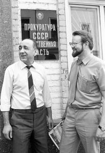 Тельман Хоренович Гдлян (слева) и Николай Вениаминович Иванов (справа)